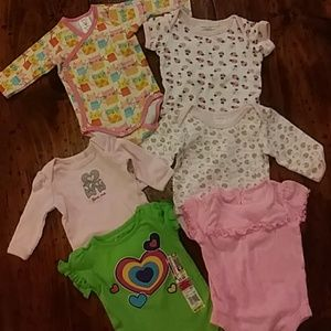 Other - Infant girl body suit bundle